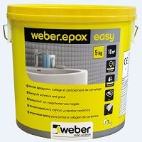 Weber joint epoxy grout