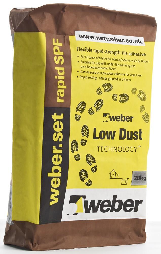 Powder Adhesive for Tiling