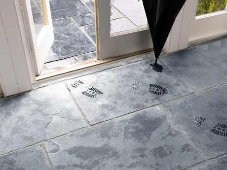 Floor tiles made from Natural Stone