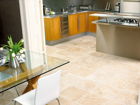 Kitchen Floor Tiles made from Natural Stone