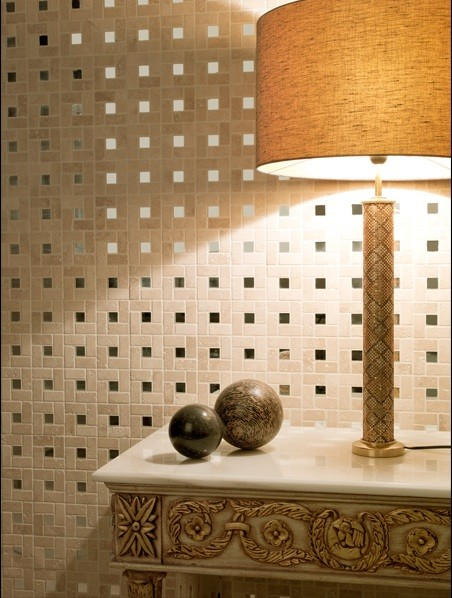 Metal and Metallic Mosaic Tiles