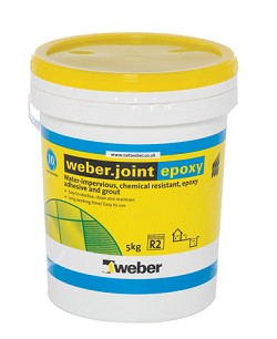 What types of grout are available for Joint carrelage epoxy weber