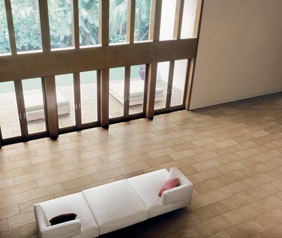 Terracotta tiles roomsetting