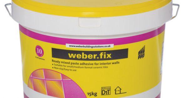 Weber Fix 15kg Tile Adhesive Atlas Ceramics