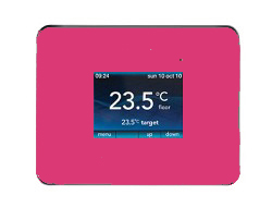 Warmup 3iE Thermostat - Deep Pink