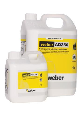 Weber AD250 5ltr Admix