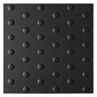 Dorset Woolliscroft Tactile Blister Anthracite 400x400mm