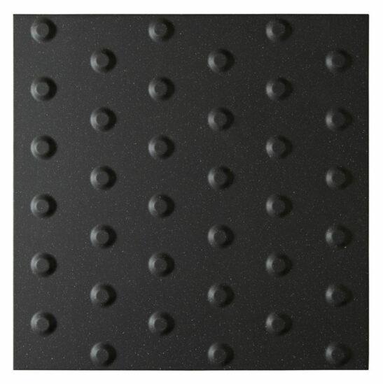 Dorset Woolliscroft Tactile Blister Anthracite 400x400mm
