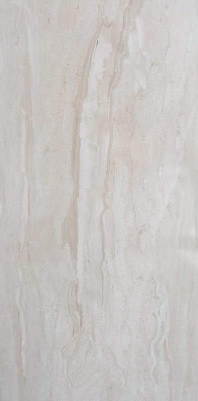 Diva Large Format Marble Look Porcelain Floor Tile 440mm