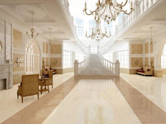 Nude Large Format Porcelain Floor Tile 440mm X 880mm