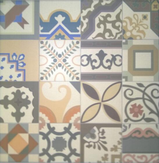 Patchwork Deco Tile