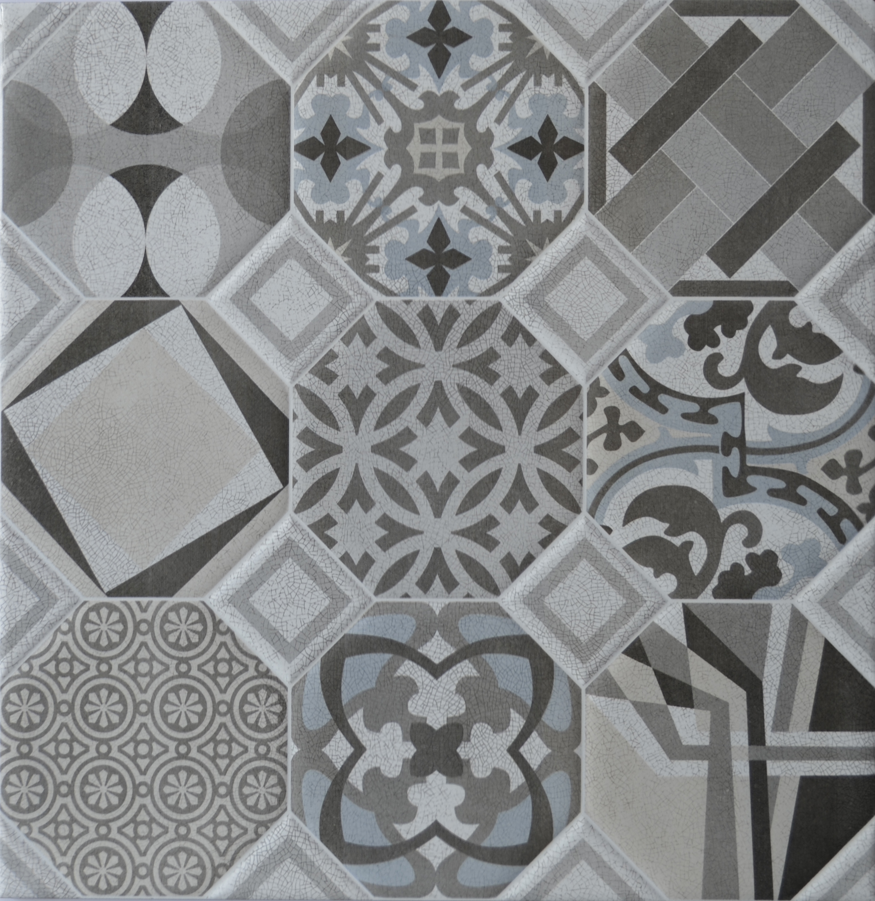 Flow Decorative Floor Tile 600mm X 600mm Atlas Ceramics