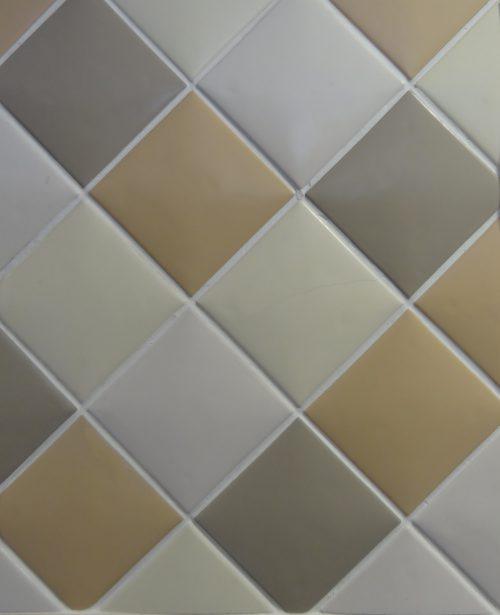 Self Mocha Wall Tile - 100mm x 100mm Neutral Tile