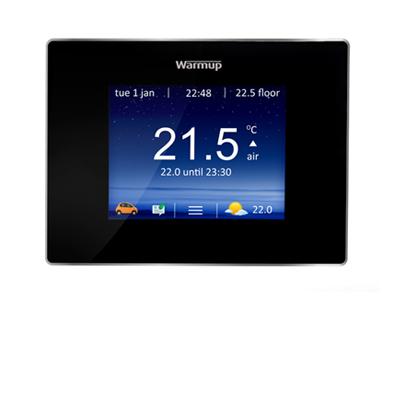 Warmup 4iE WiFi Thermostat - Onyx