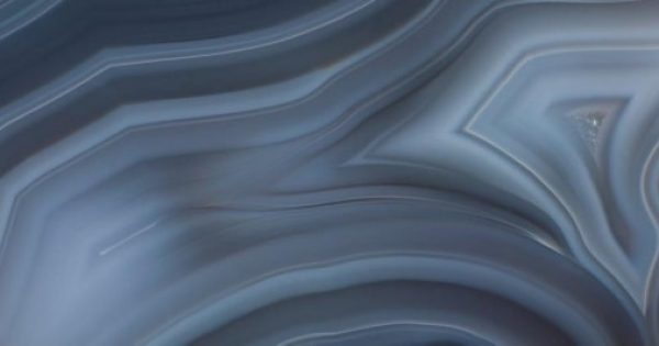 Aura Agate Glass By Dune A Mixed Blue Glass Effect Wall