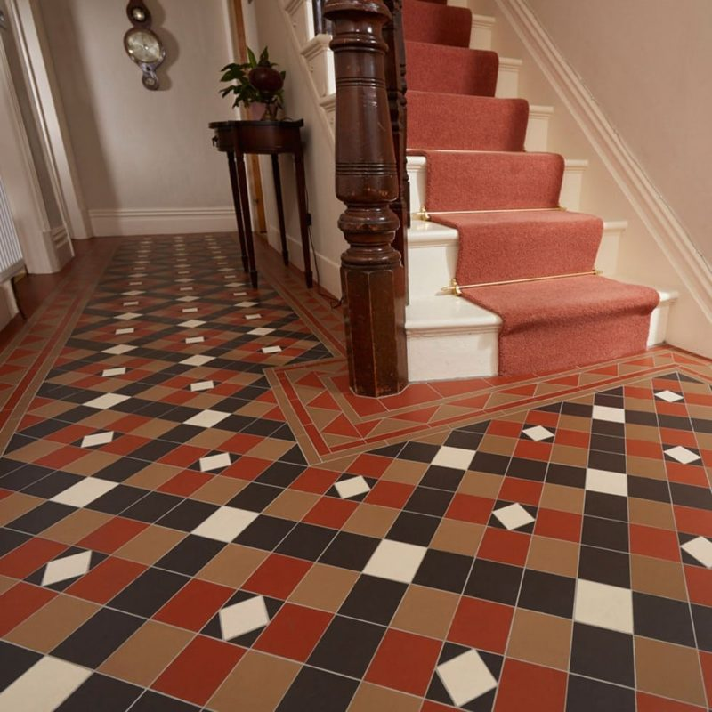 Victorian Style Floor Tiles Uk For Bathrooms Kitchens Porch Hallway