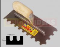 Economy 20mm Round Notch Trowel