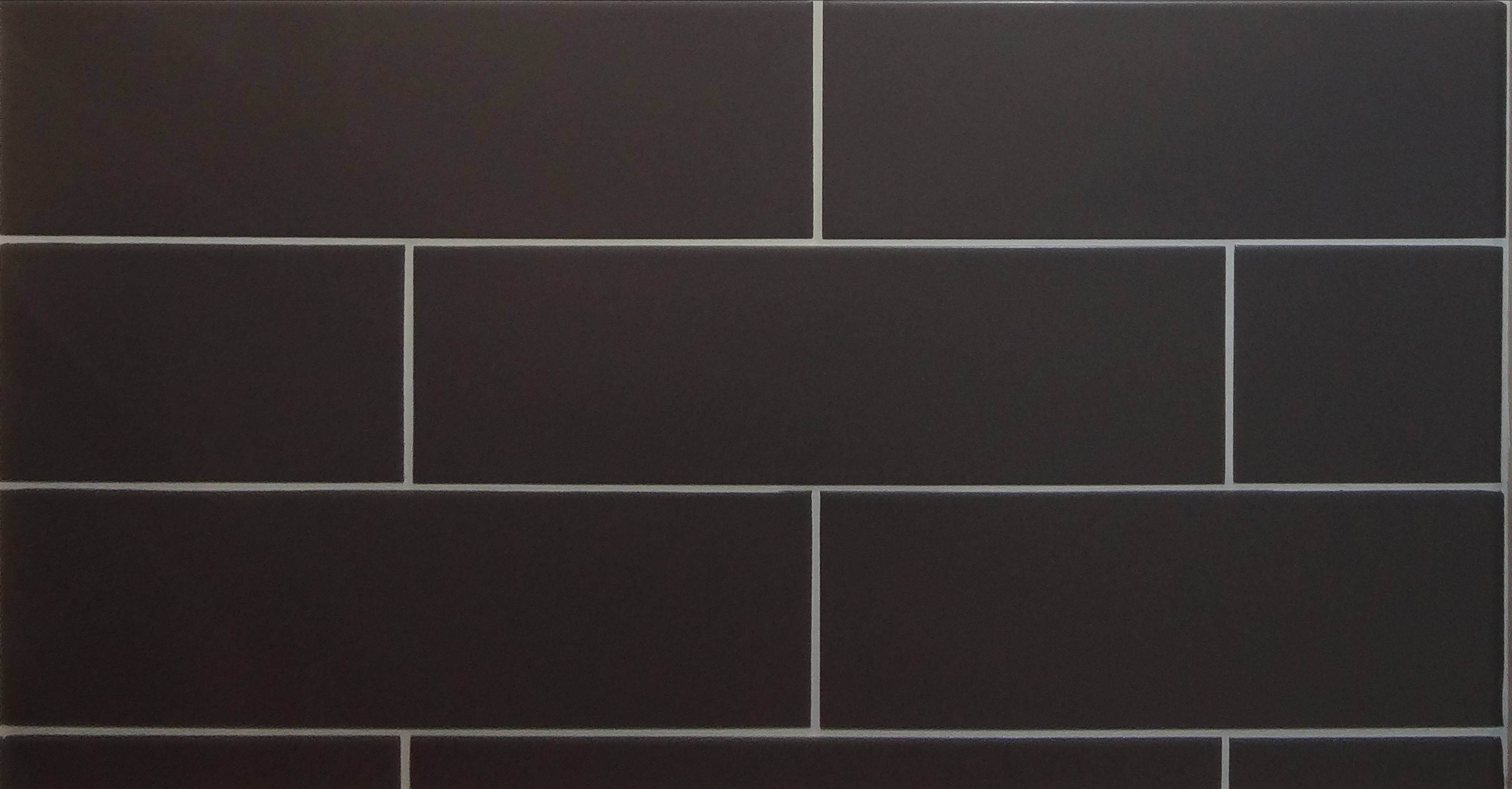 Pastel Matt Anthracite Rectangular Modern Tile 100mm X 330mm