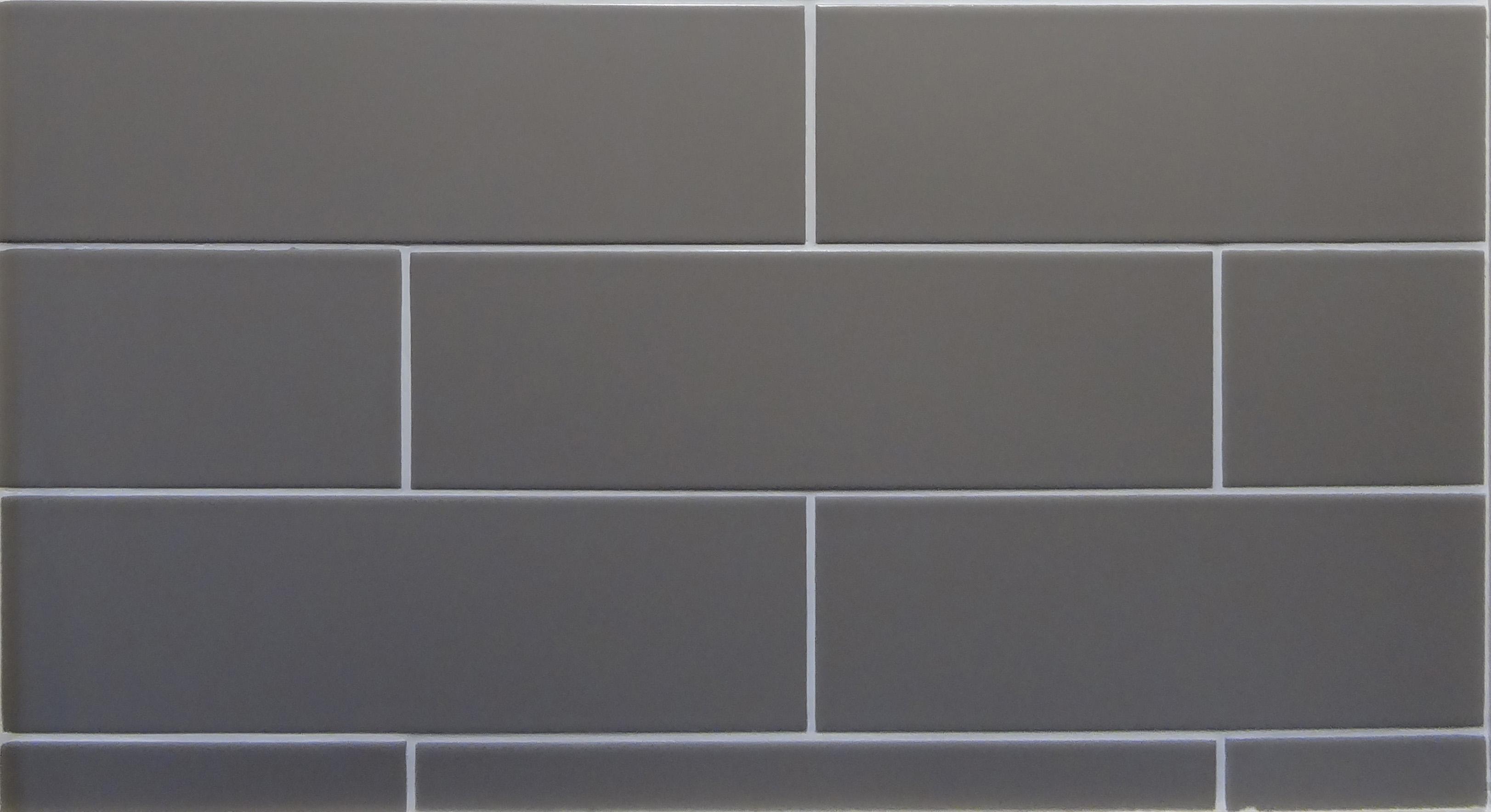 Pastel Matt Mocha Modern Rectangular Ceramic Tile 100mm X 330mm
