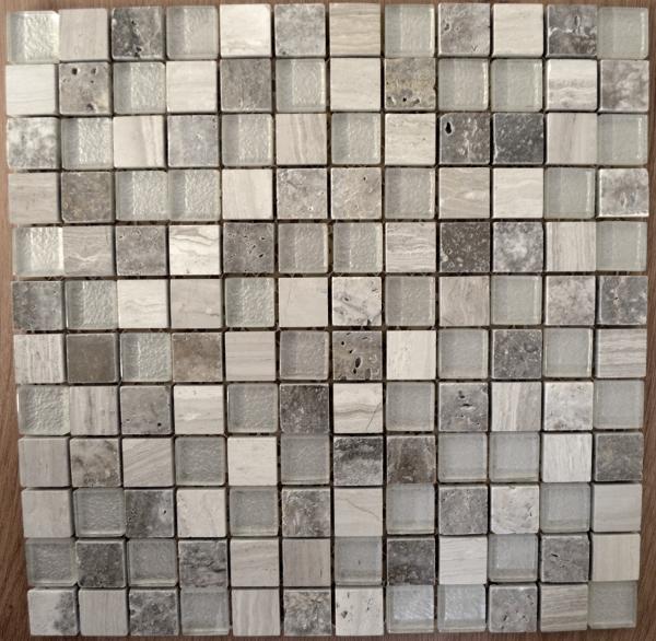 canyon gris mosaic 300mm x 300mm