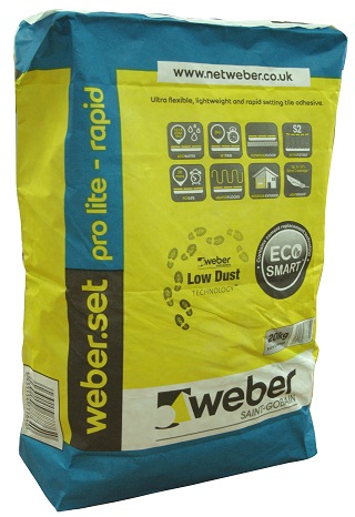 Weber Set Pro Lite Rapid 20kg