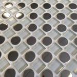 Checkers White 300mm x 300mm