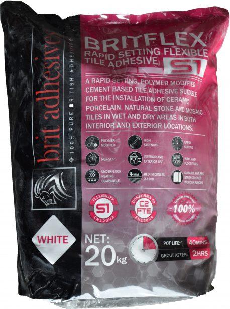 Brit Adhesive S1 Rapid Flex White 20kg