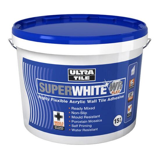 super white ready mix adhesive 7.5kg