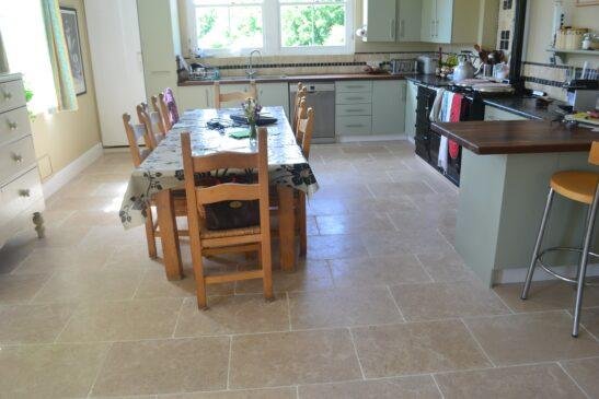 Limestone Tumbled Mink tile