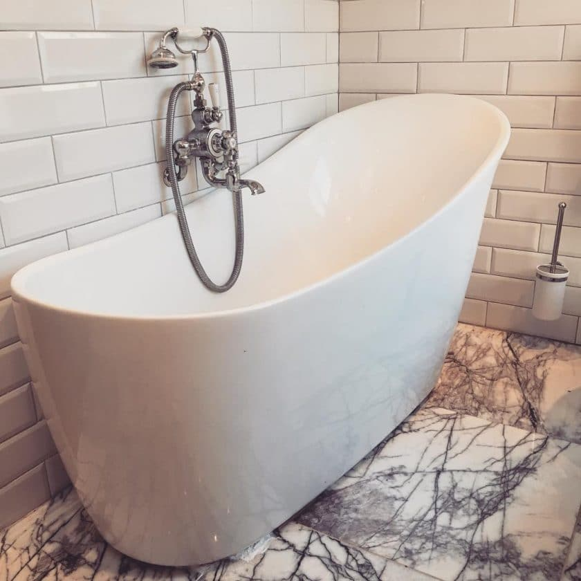 Marble Tiles Can Help To Create Stunning, Elaborate Bathrooms.