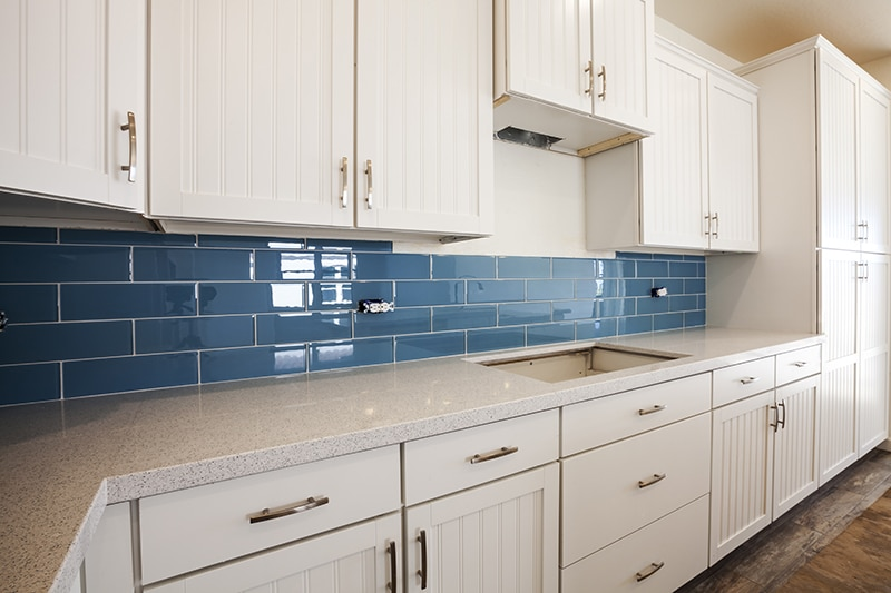Blue Kitchen Tiles >> 10 Irresistible Kitchen Tile Splashback Ideas To Transform