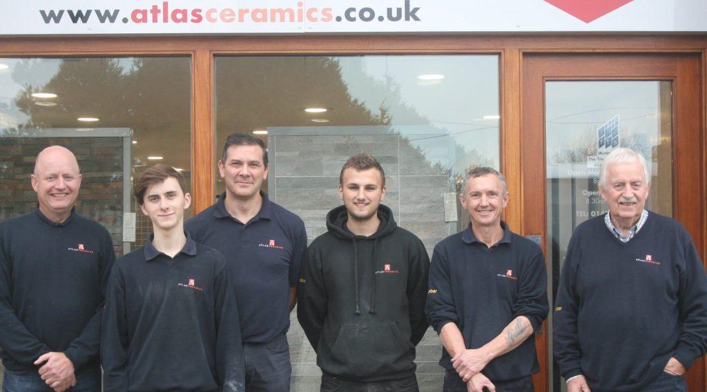 Atlas Ceramics Employees - Mike Head, Dean Cooper, Dan Woolley, Darren Clark, Glenn Miller, Peter James