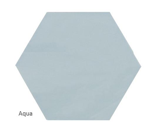 Ava Aqua plain tile