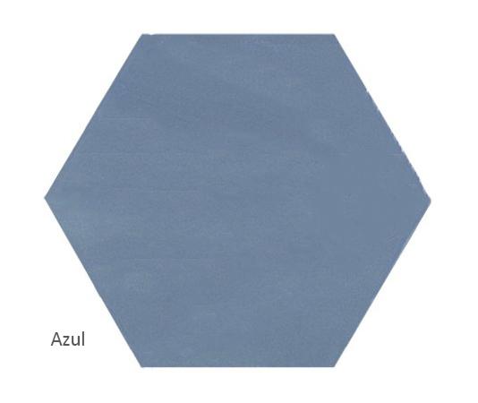 Ava Azul plain tile