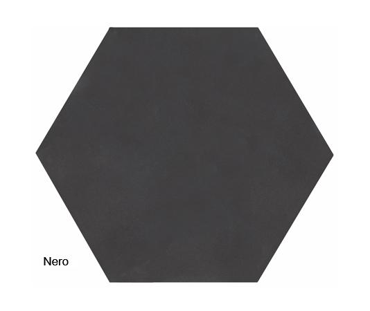 Ava Black plain tile
