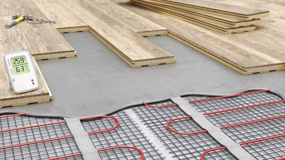 Underfloor heating Structure