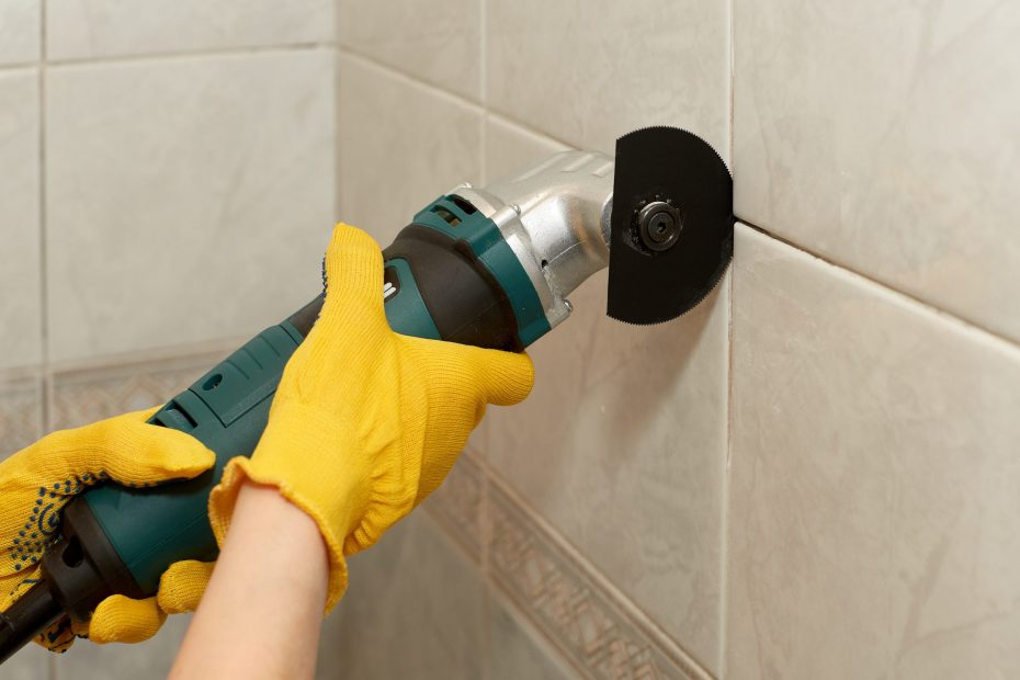 Grouting removal